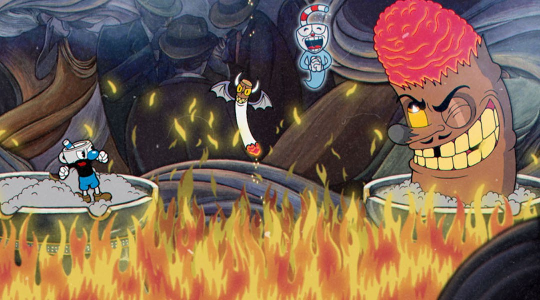 I can't be the only that one that thinks 'Cuphead' is slightly creepy.