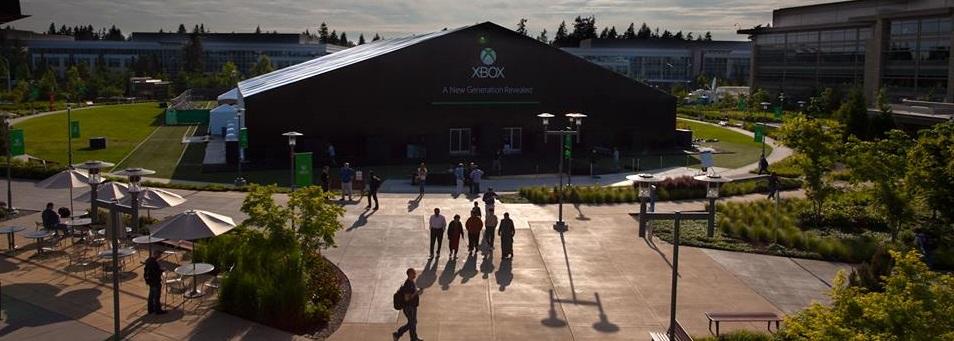 xbox reveal tent