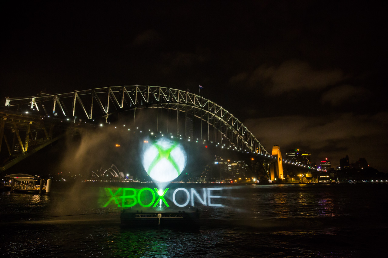 A scenes from the Xbox One launch event in Australia, captured by Microsoft.