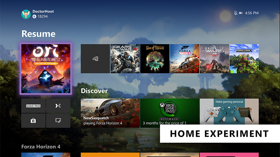 Microsoft is Testing a New Xbox Home Screen and Voice Command Changes in a New Update