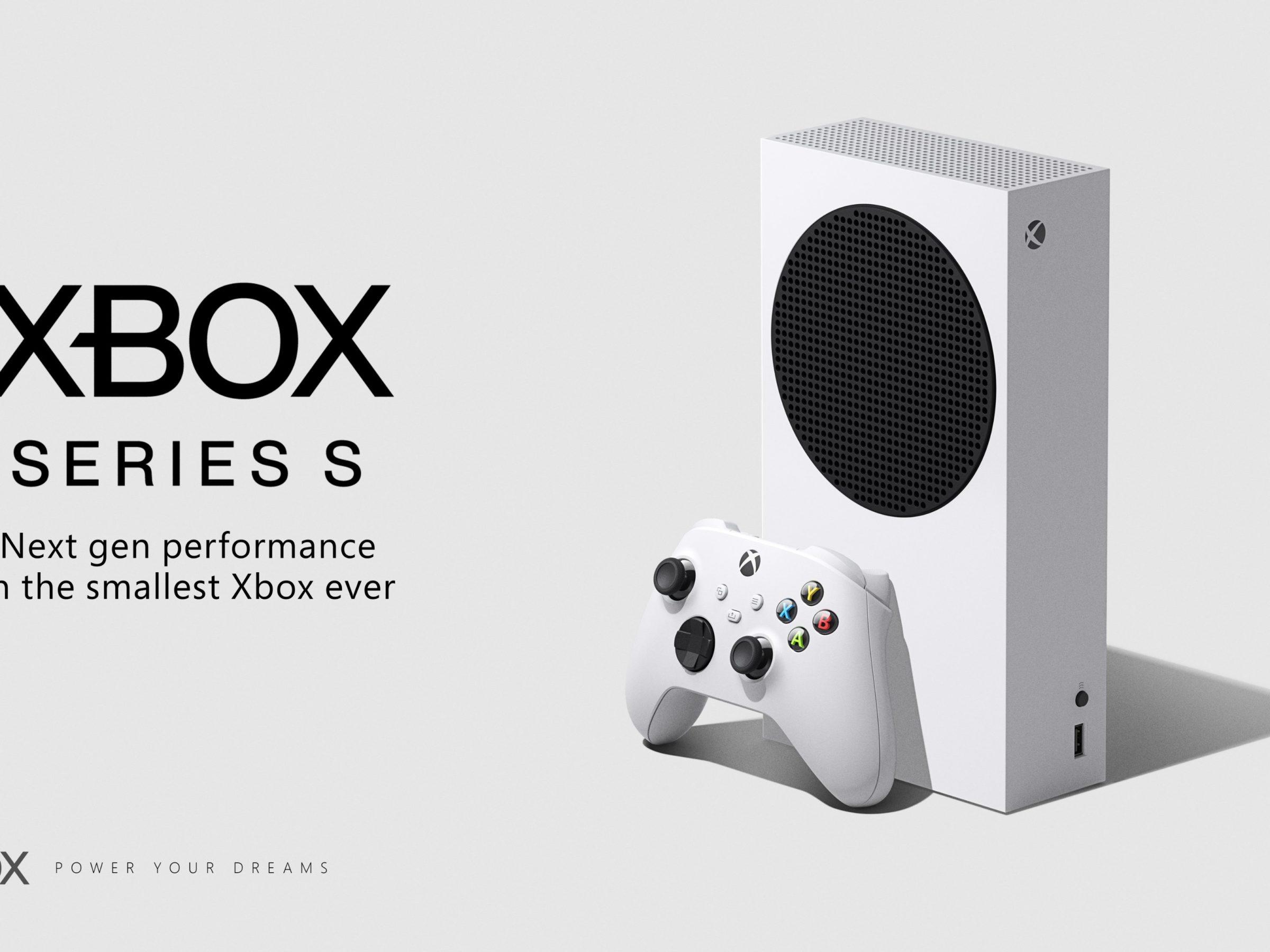 The White Xbox Series S