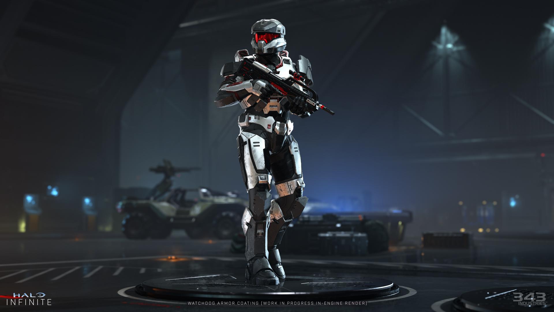 Spartan in Halo Infinite. (343 Industries)